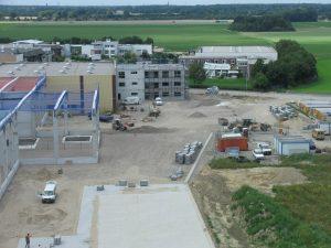 Erweiterung der Produktionsflächen